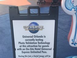 Universal Orlando testing photo validation technology