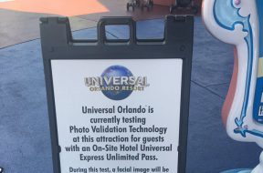 Universal Orlando testing photo validation technology