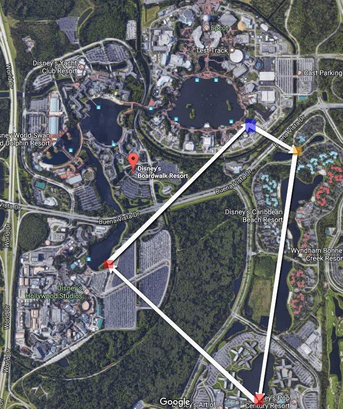 Walt Disney World rumored gondola system