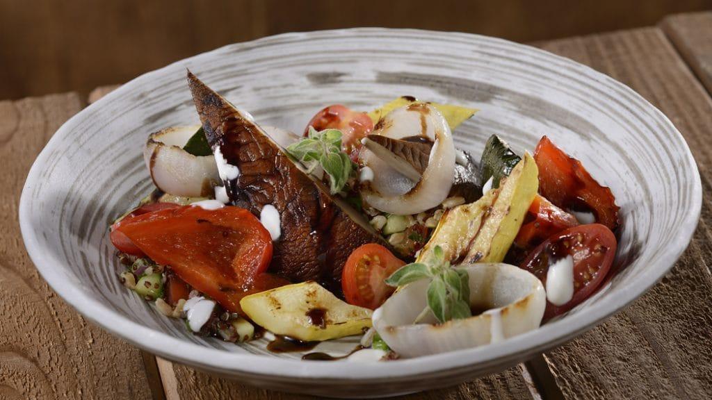 Grilled Portobello Salad at Geyser Point Bar & Grill at Disney's Wilderness Lodge