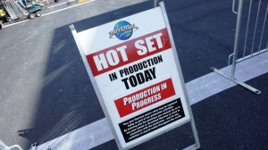 Hot set at Universal Studios Florida