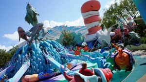 One Fish Two Fish Red Fish Blue Fish in Seuss Landing at Universal's Islands of Adventure