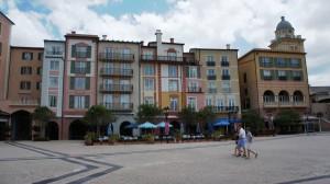 Loews Portofino Bay Hotel harbor at Universal Orlando Resort