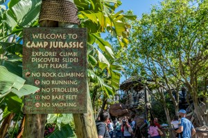 Camp Jurassic at Universal's Islands of Adventure