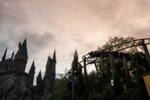 Flight of the Hippogriff in The Wizarding World of Harry Potter Hogsmeade at Universal Orlando Resort