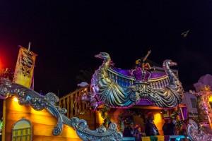 Mardi Gras 2015 parade at Universal Studios Florida