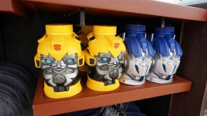 Transformers merchandise at Universal CityWalk.
