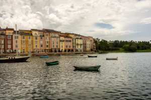 Loews Portofino Bay Hotel harbor at Universal Orlando Resort
