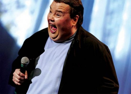 John Pinette performs at the Improv Comedy Club