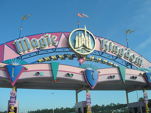 Entrance to the Magic Kingdom Resort Area