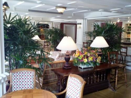 Inside the Belle Vue Lounge