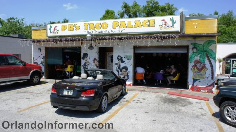 PR's Taco Palace: Don't drink the water.