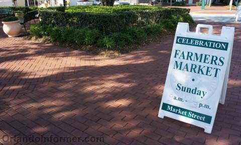 Celebration farmers market: Head this way.