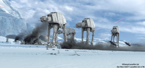 Star Tours 2.0 New Destinations: Hoth.
