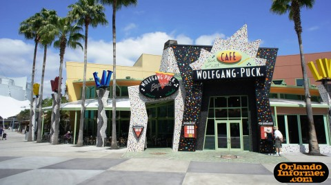 Wolfgang Puck Cafe at Downtown Disney's West Side.