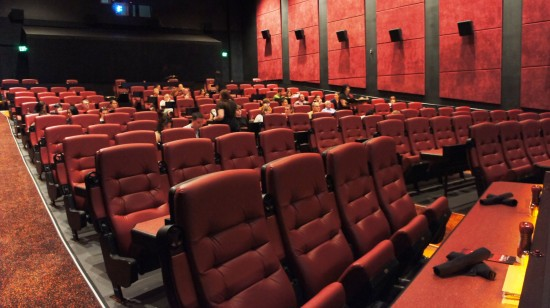 AMC Fork & Screen at Downtown Disney: Inside one of the theaters.