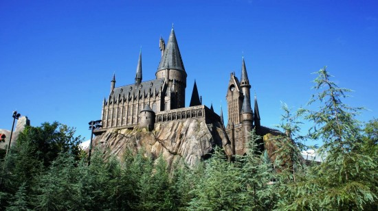 Hogwarts Castle at the Wizarding World of Harry Potter - May 31, 2011.