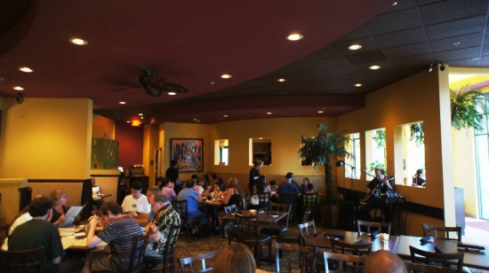 Padrino's Cuban Bistro: Seating area.