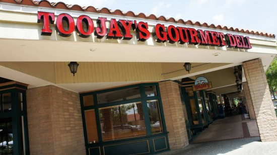TooJay's Original Gourmet Deli on Orlando's Restaurant Row.