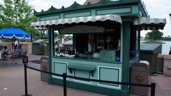 Drinking around the world: France Pavilion.