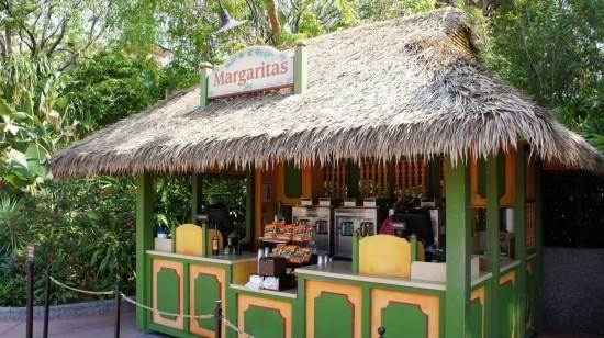 Drinking around the world: Mexico Pavilion.