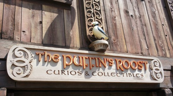 Puffin's Roost at the Norway Pavilion in Epcot.