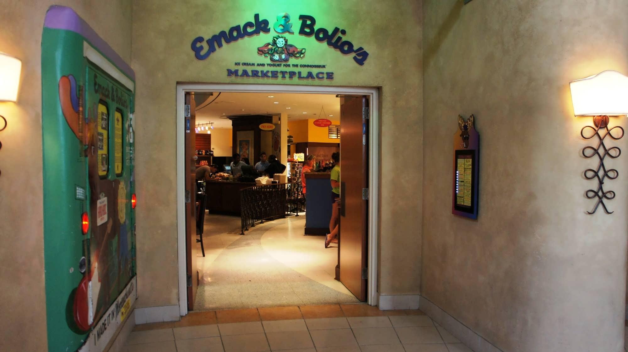Hard Rock Hotel's Emack & Bolio's Marketplace