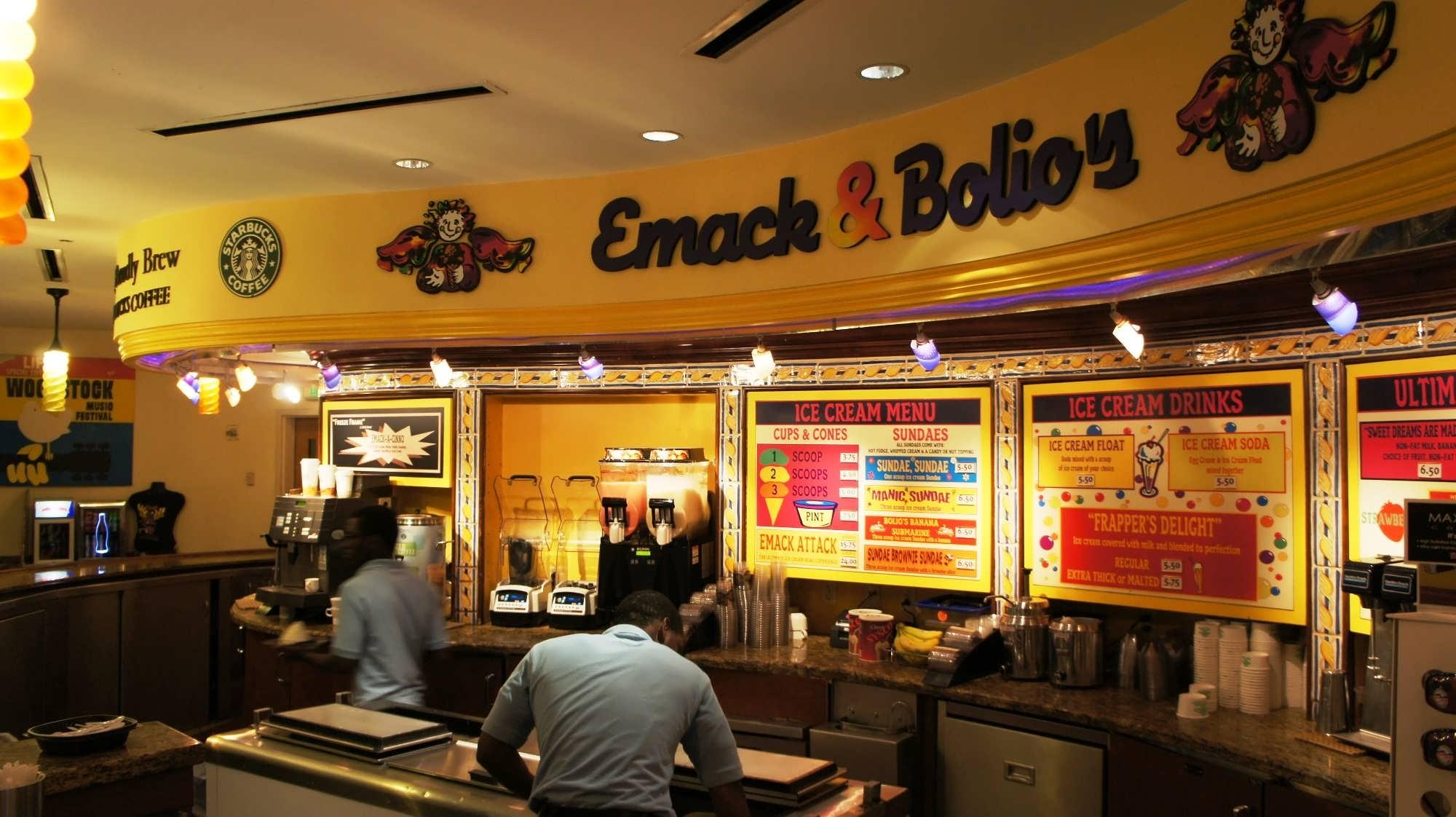 Hard Rock Hotel Orlando's Emack & Bolio's Marketplace