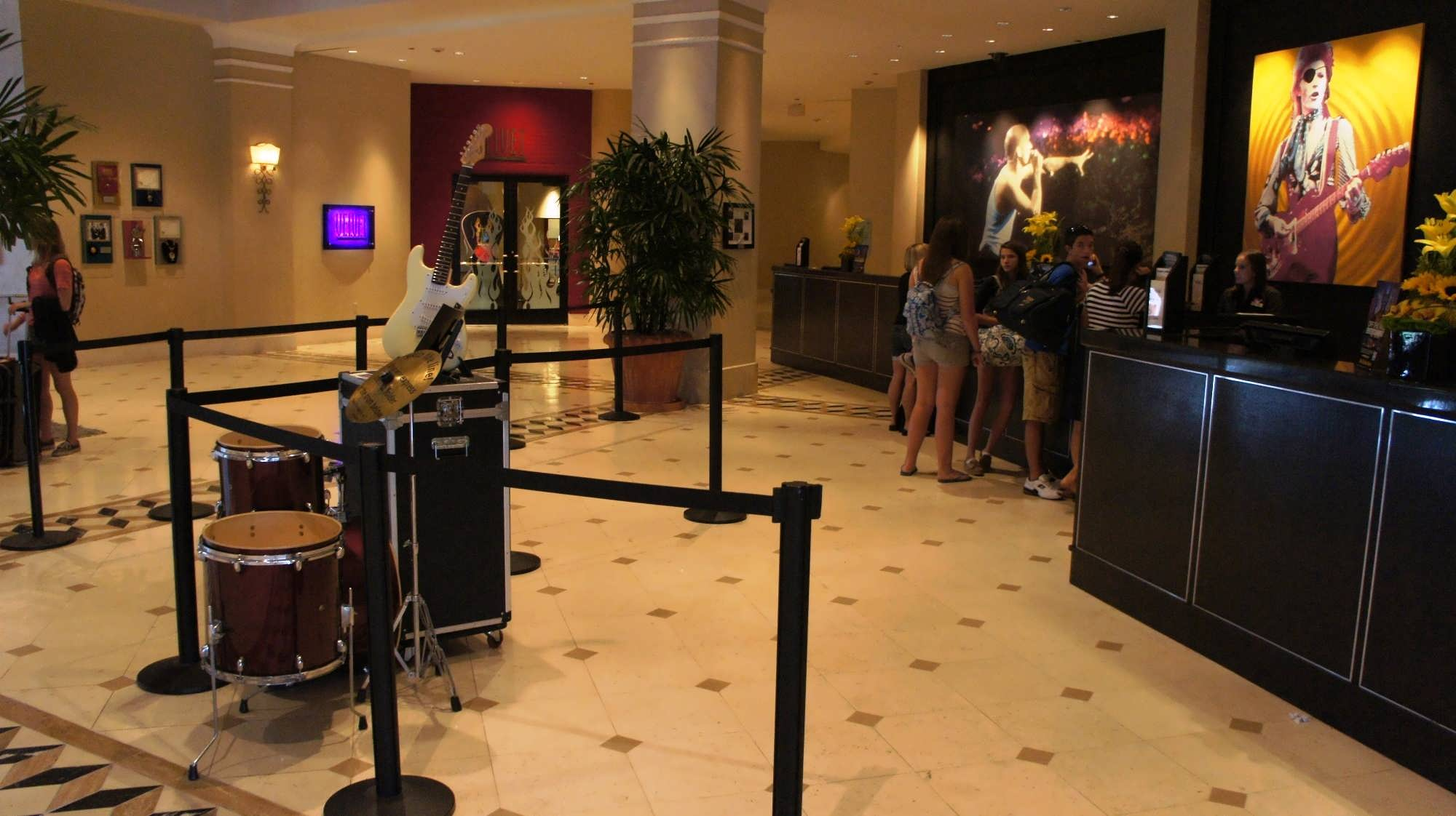 Hard Rock Hotel Orlando Front desk