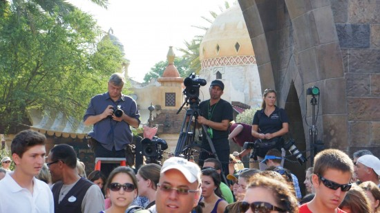 Wizarding World of Harry Potter one-year anniversary: Camera Crew.