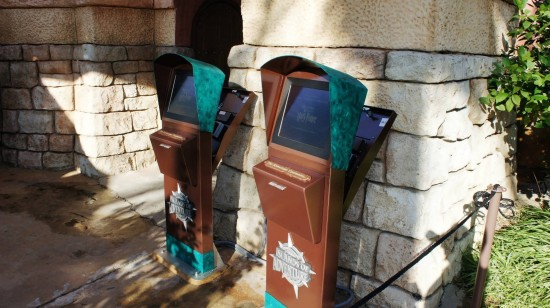 Wizarding World of Harry Potter trip report - July 2011: New WWoHP electronic return ticket machines.