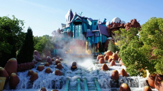 Universal's Islands of Adventure trip report - July 2011: Rippin' down Ripsaw Falls.