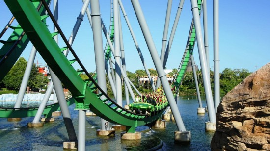 Universal's Islands of Adventure trip report - July 2011: Incredible Hulk is still an incredible coaster.