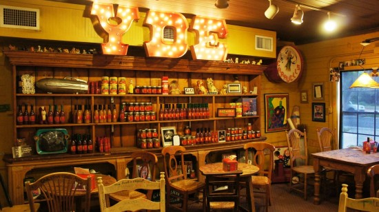 Yellow Dog Eats Bistro & Wine Store in Windermere, FL: Inside the store.
