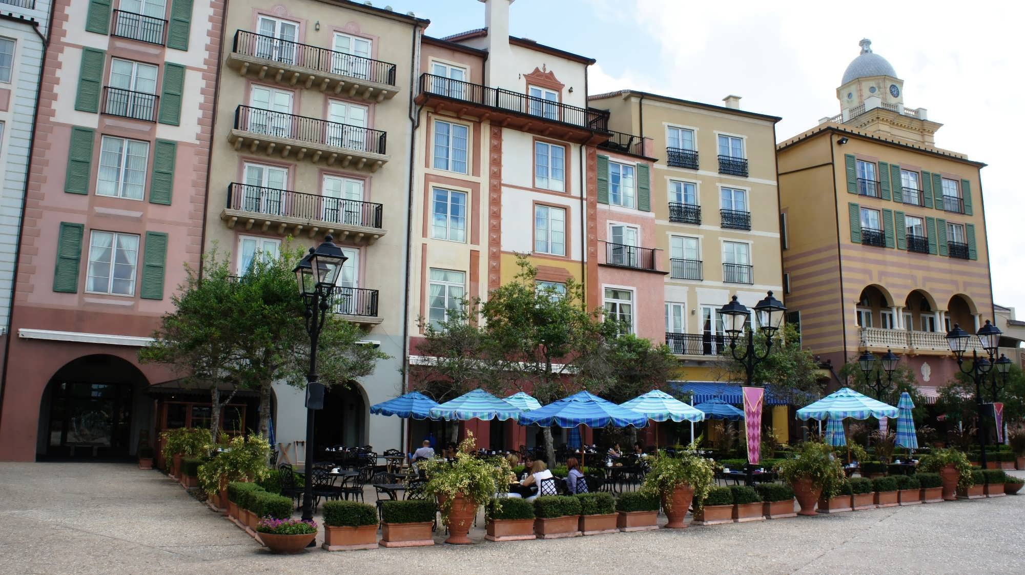 Trattoria del Porto at Portofino Bay Hotel