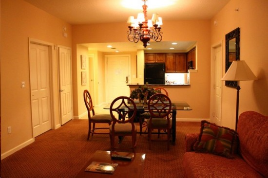 Hilton Grand Vacation Club on International Drive in Orlando: Extra living space.