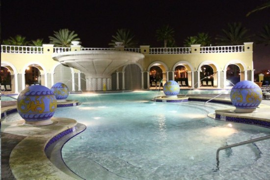 Hilton Grand Vacation Club on International Drive in Orlando: Just one of the pools.