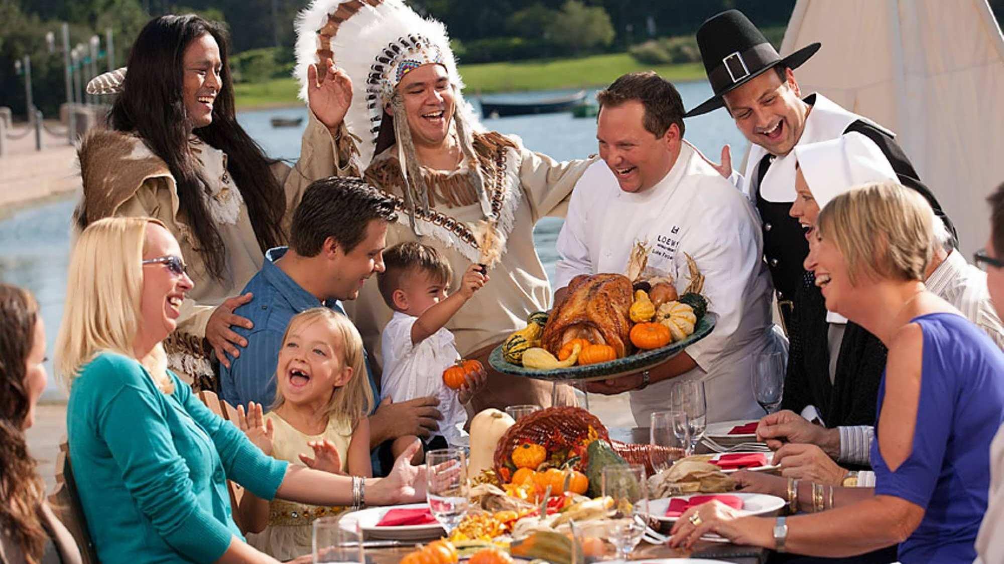 Thanksgiving at Universal Orlando Resort