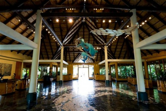 Discovery Cove Orlando: The Welcome Center.