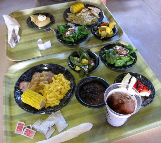 Discovery Cove Orlando: We wanted to try as much as we could, yum!