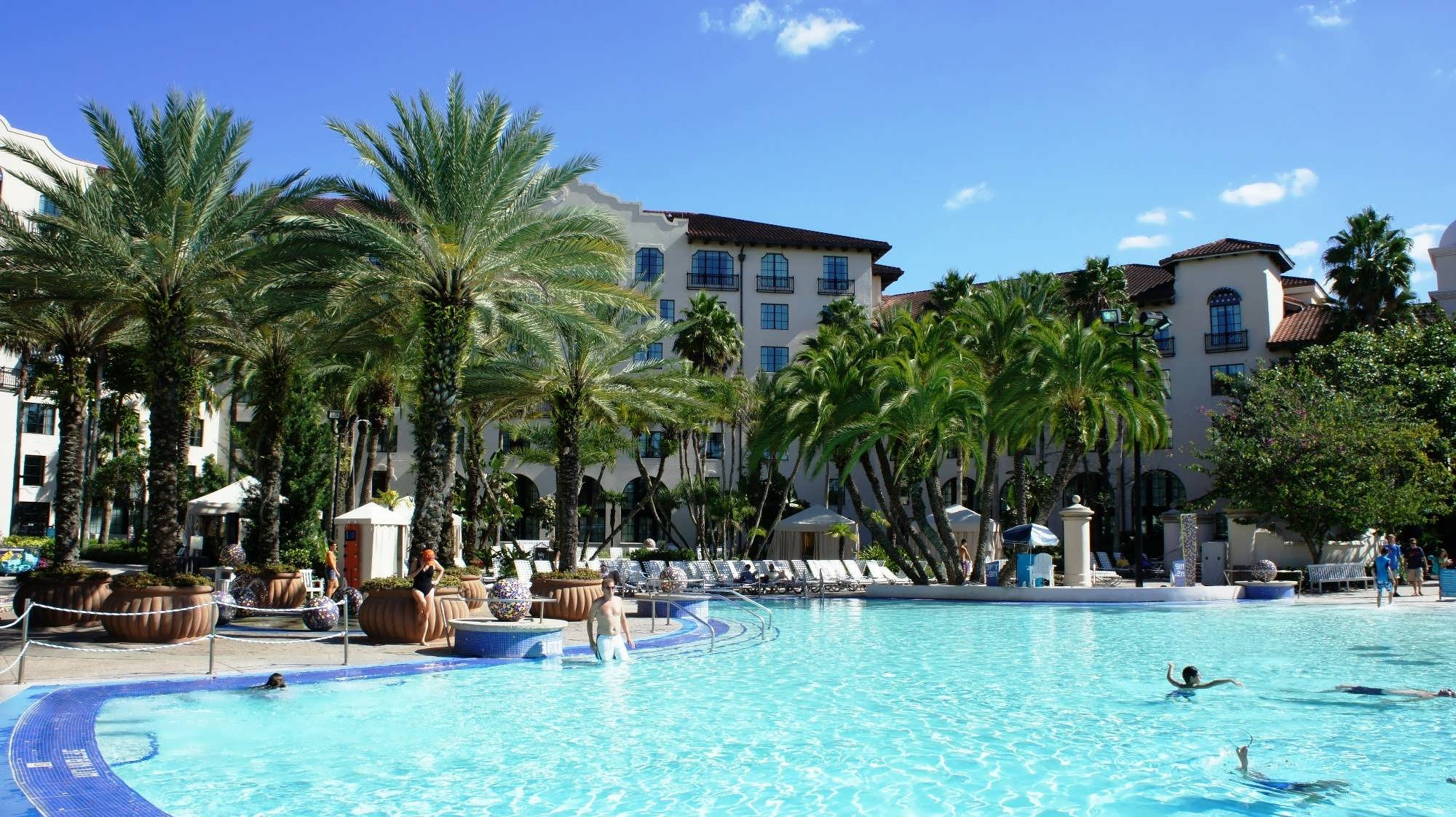 Beach Pool at Universal's Hard Rock Hotel