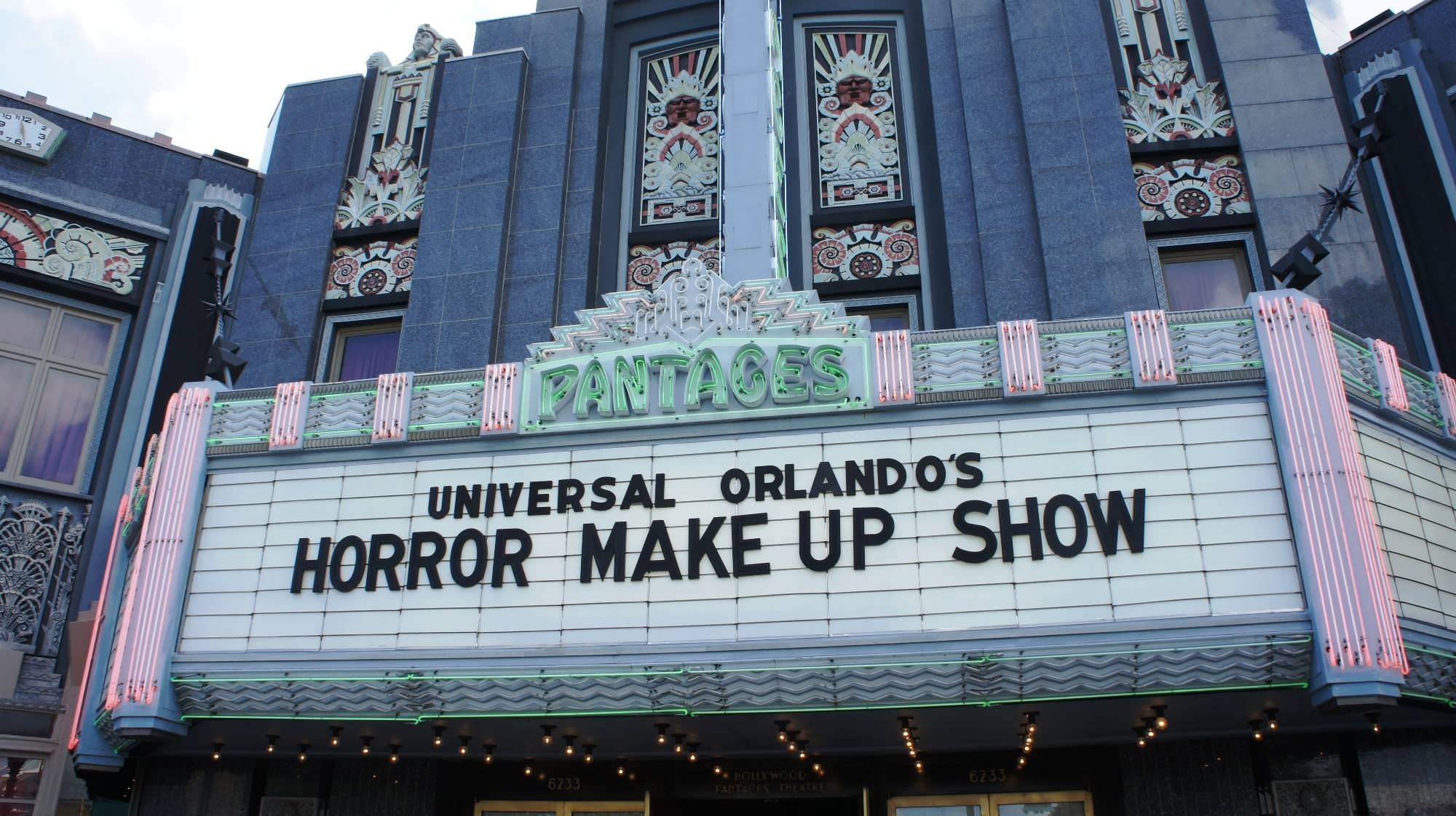 Image result for universal make up horror show