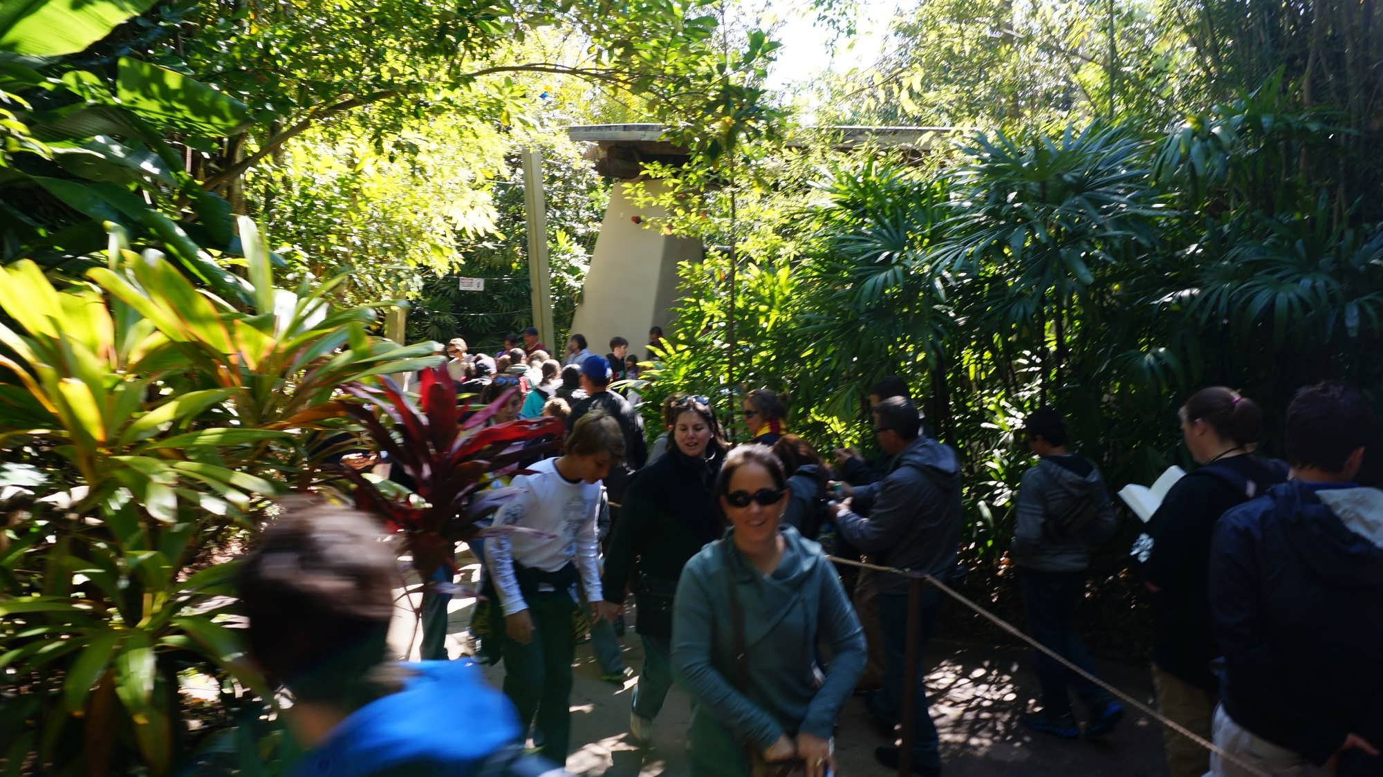 WWoHP return ticket line in Jurassic Park