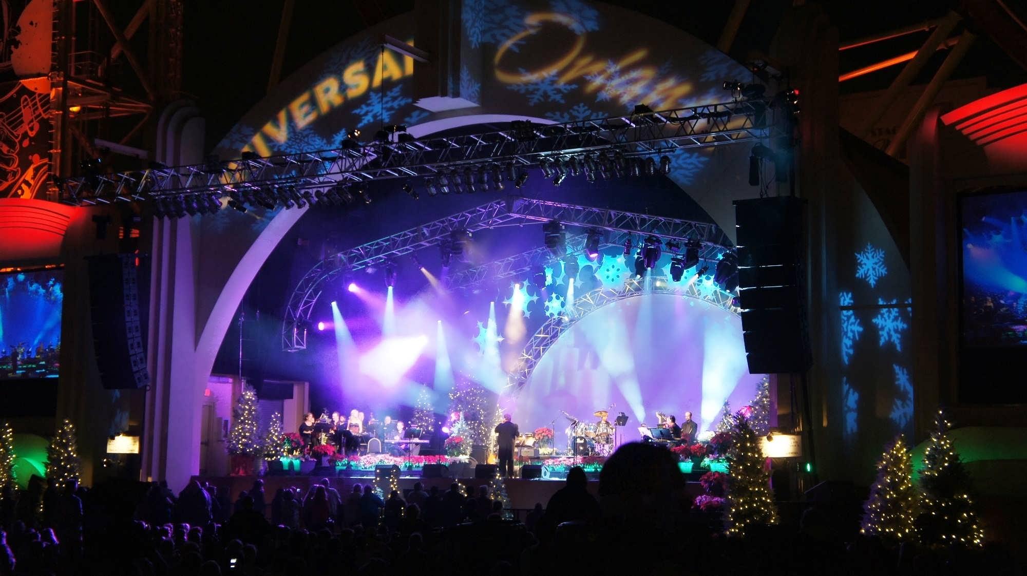 Mannheim Steamroller live at Universal Studios Florida.