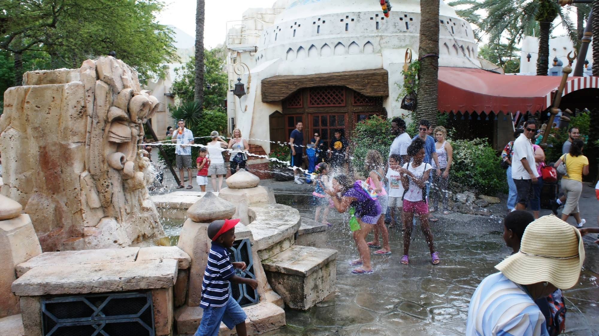 Mystic Fountain at Islands of Adventure