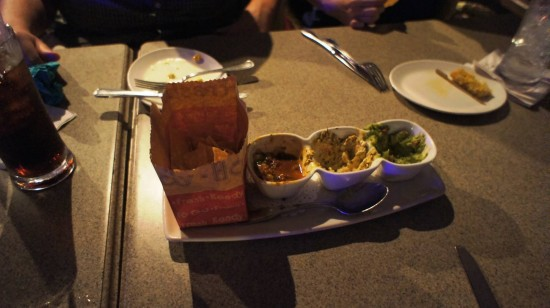 Paradiso 37 at Downtown Disney: Mexican Dipping Trio.