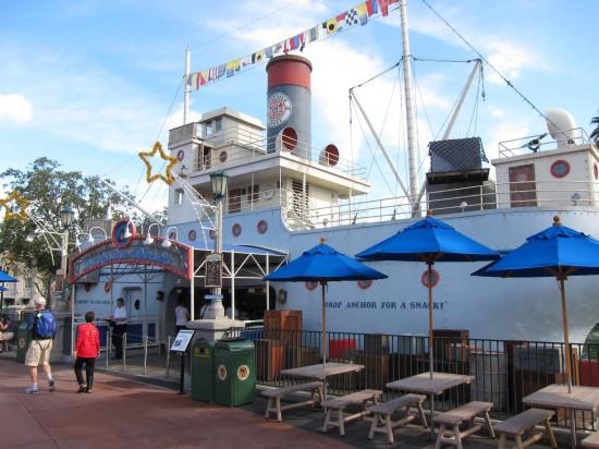 Min & Bill's Dockside Diner at Disney's Hollywood Studios.