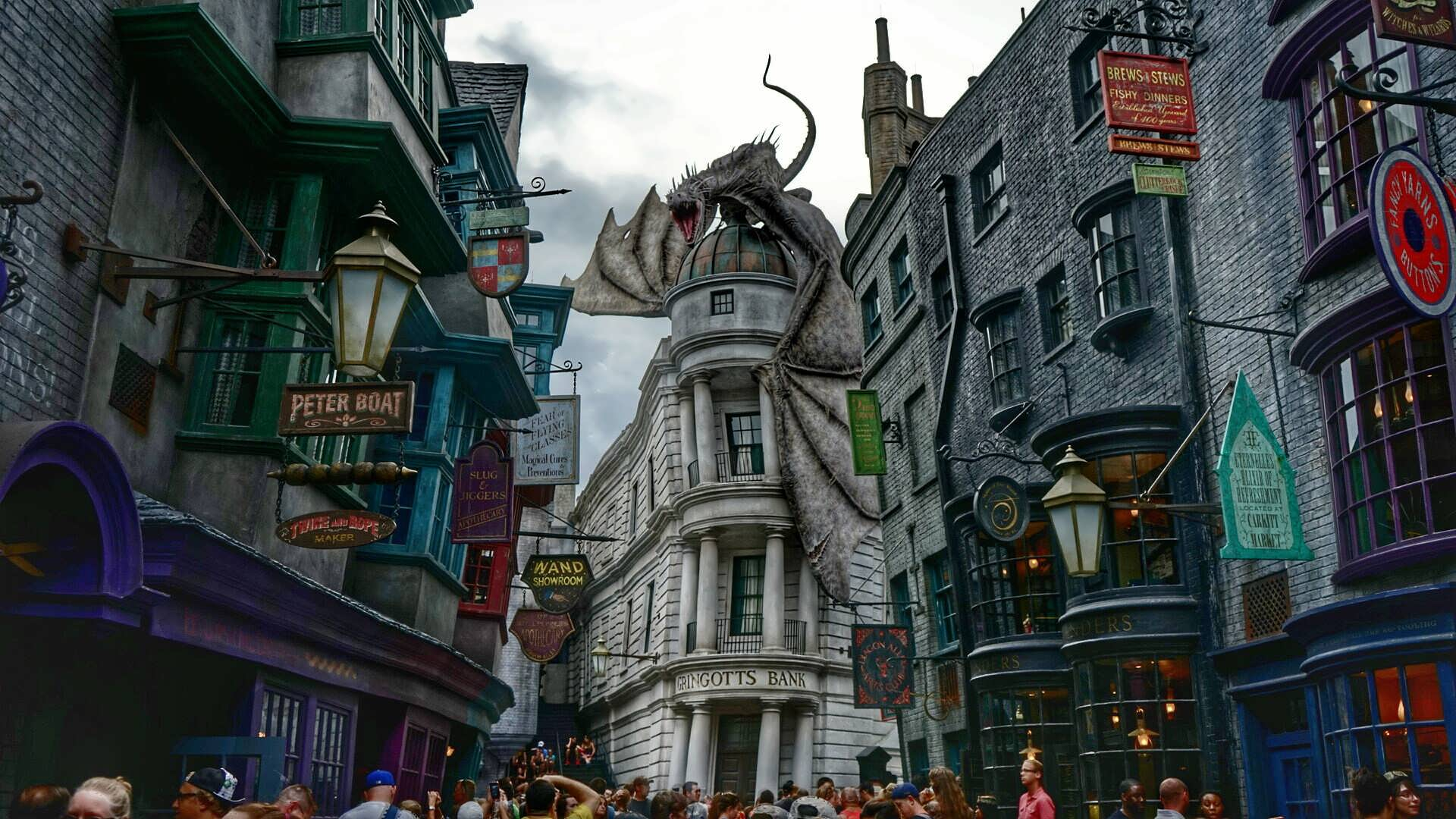 The Wizarding World of Harry Potter – Diagon Alley in Universal Studios Florida at Universal Orlando Resort