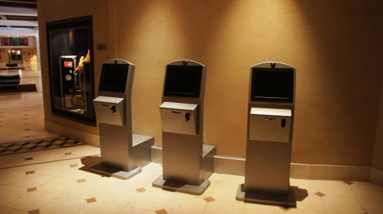 Universal's PHOTO Express Pass kiosks at Hard Rock Hotel.