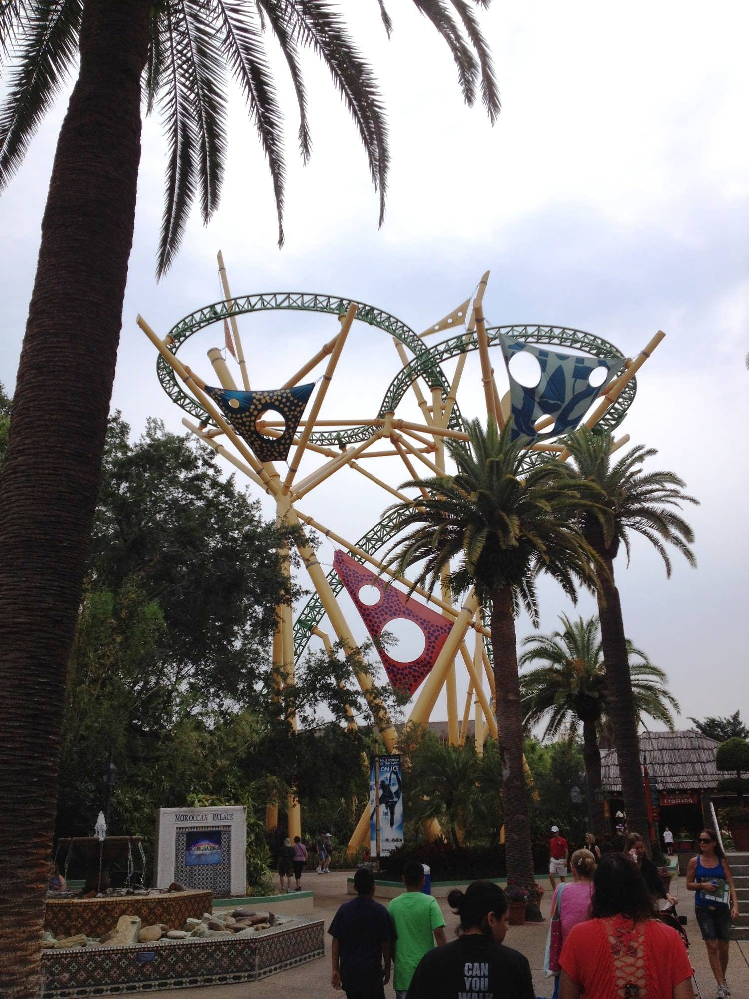 Busch Gardens Tampa How to ride every major ride and see every